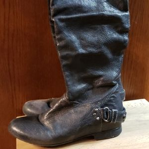 GEOX Leather Over the Knee Boots